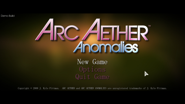 Arc Aether Anomalies